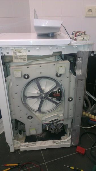Установка стиральной машины электролюкс своими руками 33